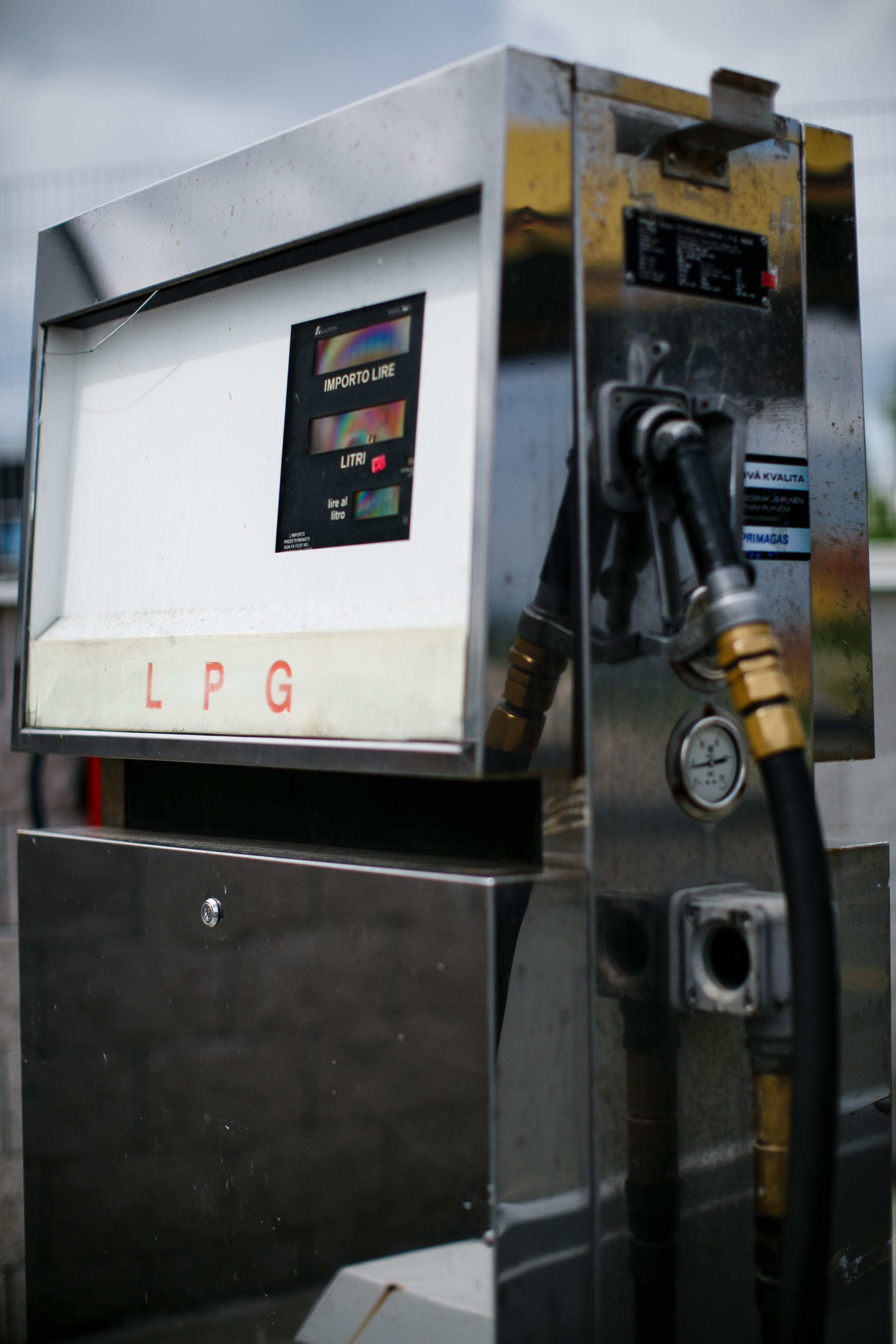 Výdejní stojan LPG
