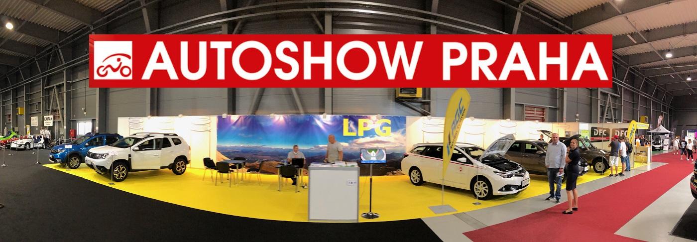 Autoshow 2020 - stánek České asociace LPG