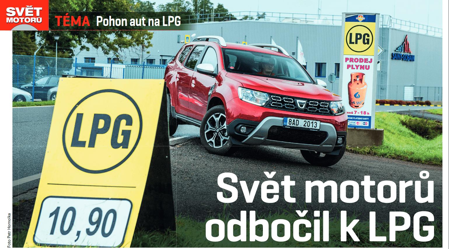 Dacia Duster na LPG a nízká cena LPG