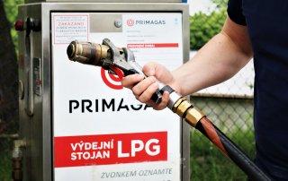 Výdejní stojan LPG a bioLPG